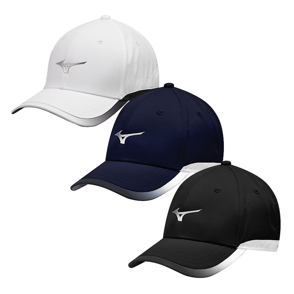 Mizuno Chrome Adjustable Cap - Mizuno Golf