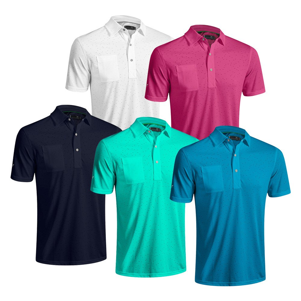 Mizuno Digital Jacquard Polo - Mizuno Golf