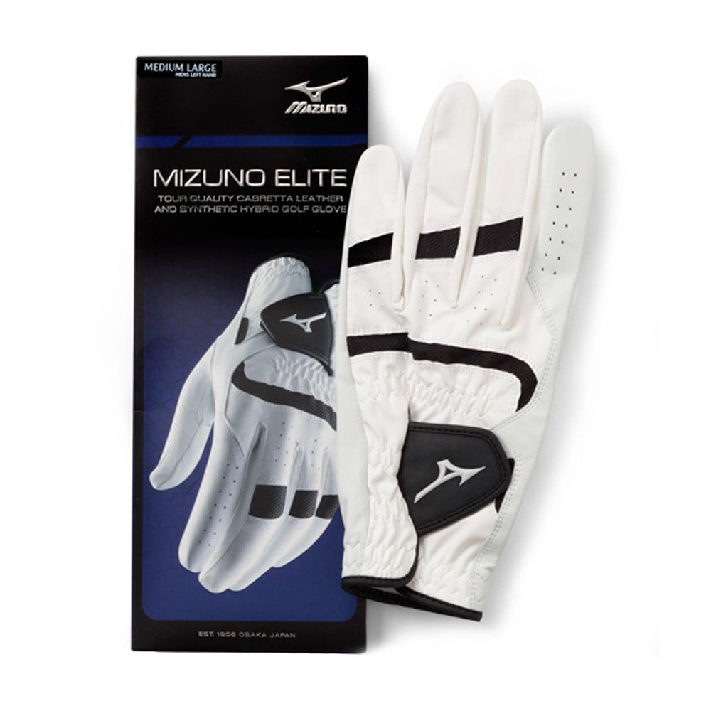 Mizuno Elite Golf Glove White/Black