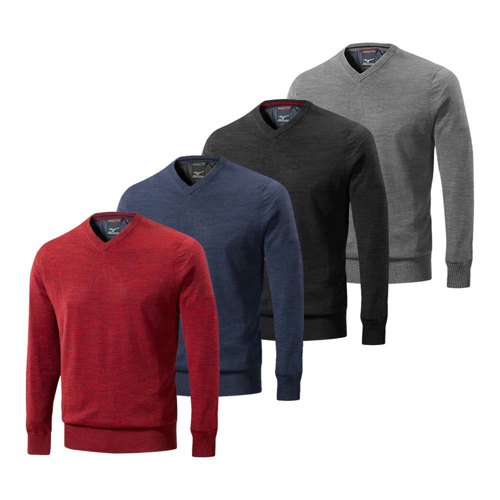 Mizuno Hayate V-Neck Sweater - Mizuno Golf