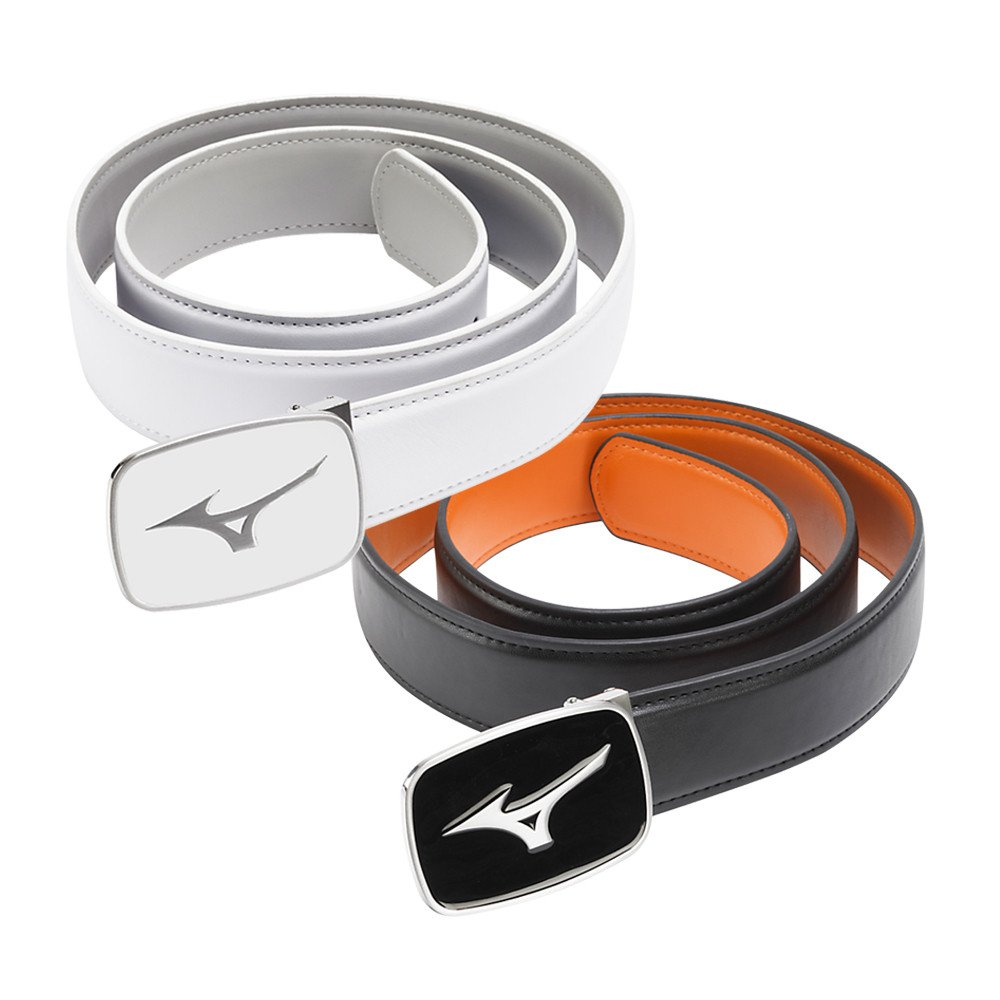 Mizuno Plain Leather Belt - Mizuno Golf