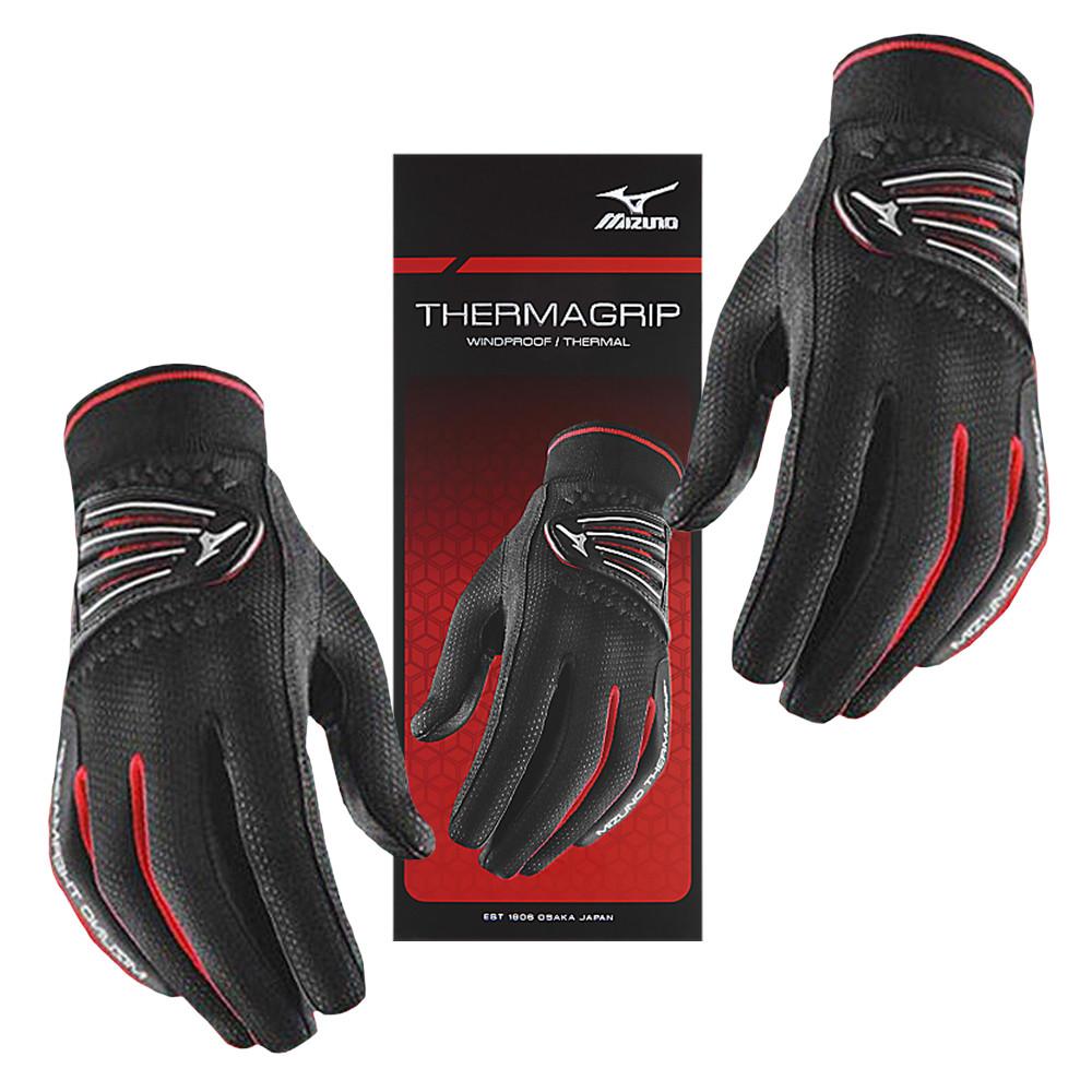 Mizuno Thermagrip Golf Gloves Black