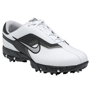 Nike Air Tour Sport (White/Metallic Silver/Black) Golf Shoes
