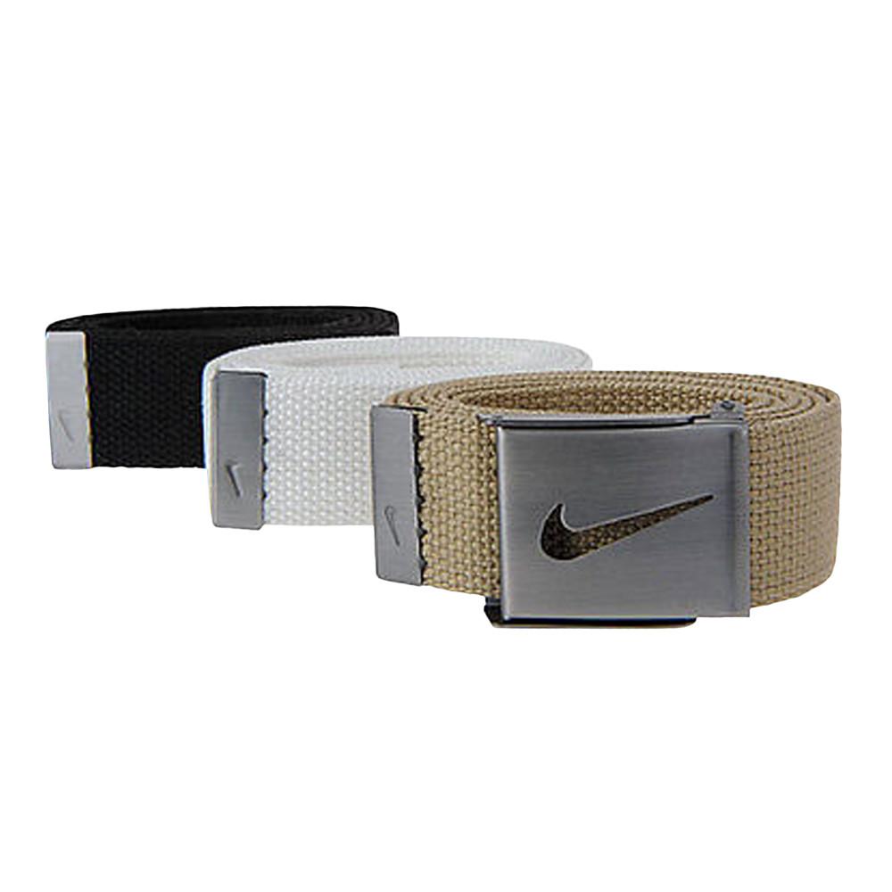 Nike Three-In-One Web Belt Pack Black/White/Tan