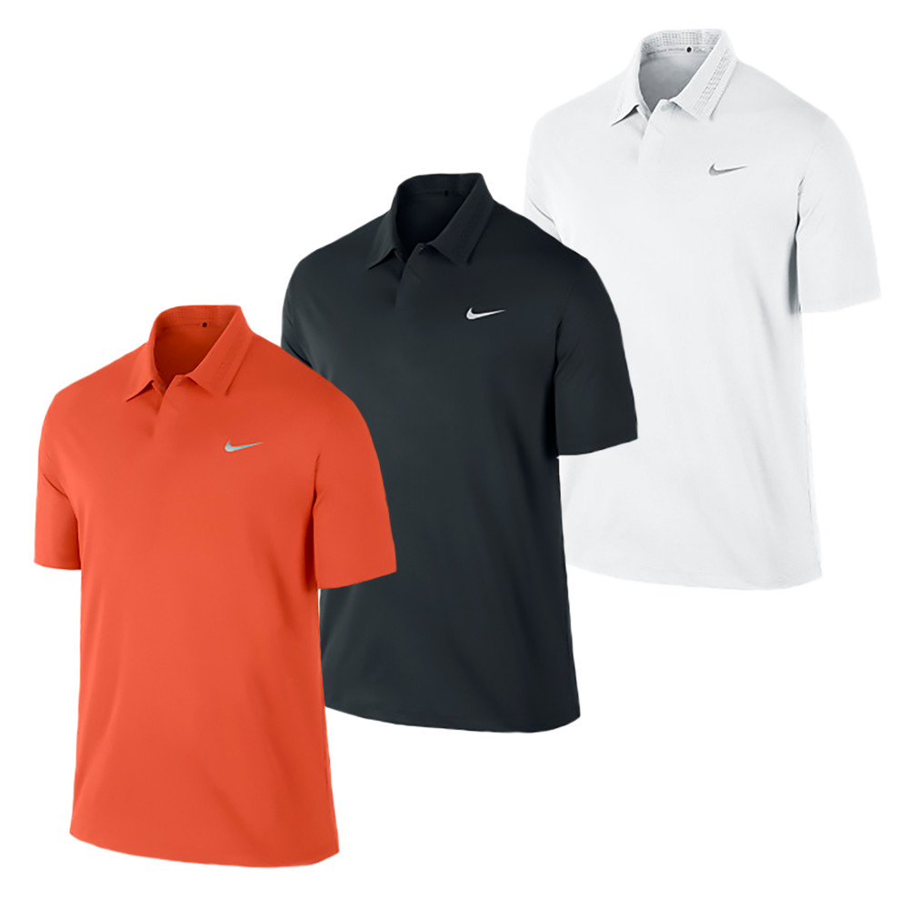 Nike Tw Embossed Mens Golf Polo Discount Mens Golf Polos And