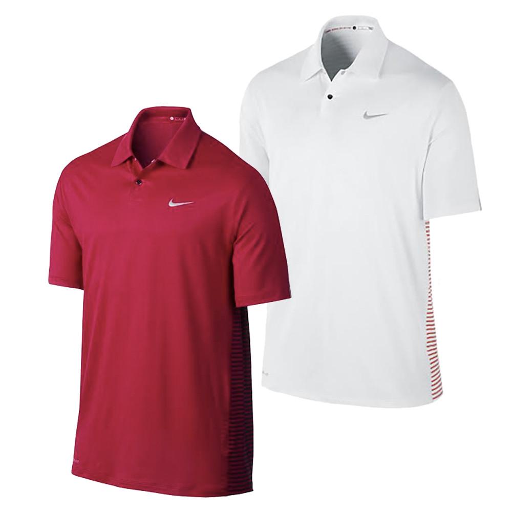 Nike Tw Engineered Stripe Mens Golf Polo Discount Mens Golf