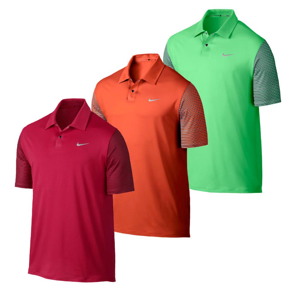 Nike TW Performance Graphic Men's Golf Polo - Discount Men ...