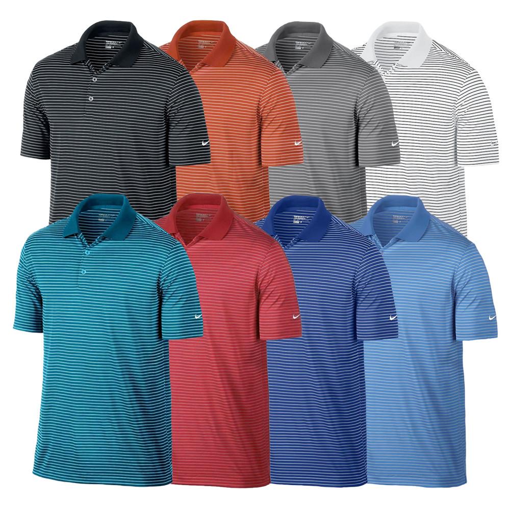 2015 Nike Victory Stripe Men's Golf Polo - Discount Men's ...