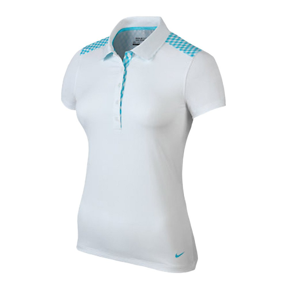 Nike Gingham Mix Women's Golf Polo - Nike Golf