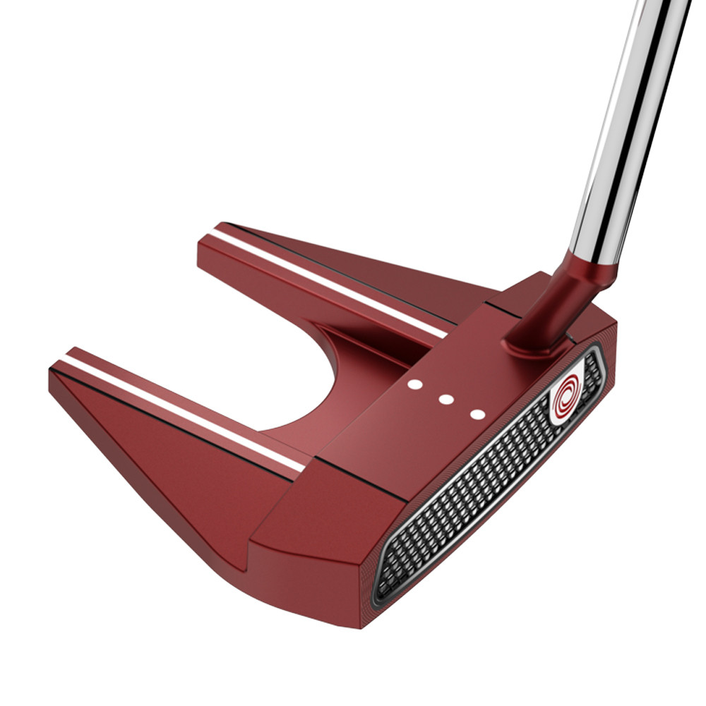 Odyssey O-Works Red #7S Putter Super Stroke Mid Slim 2.0 Grip - Odyssey Golf