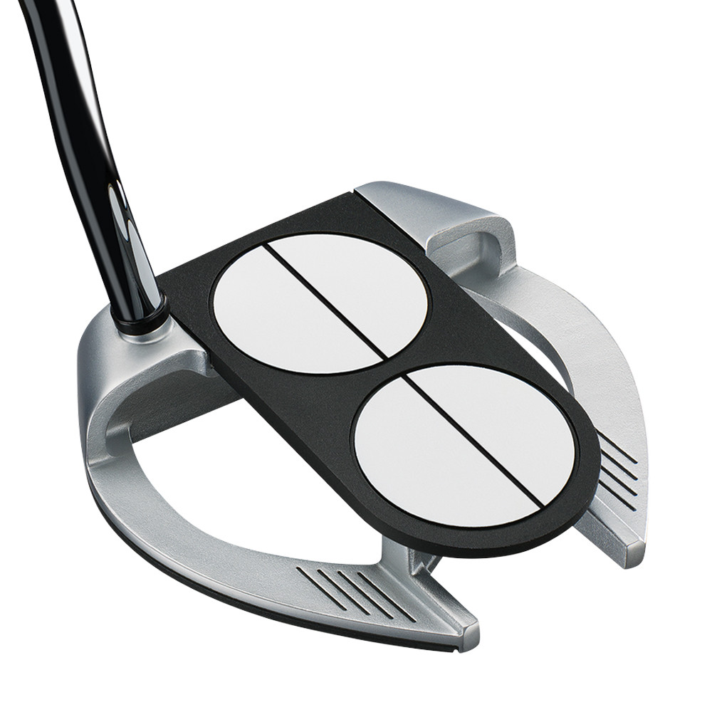 Odyssey Works Versa 2-Ball Fang Lined Putter w/ Super Stroke Grip - Odyssey Golf
