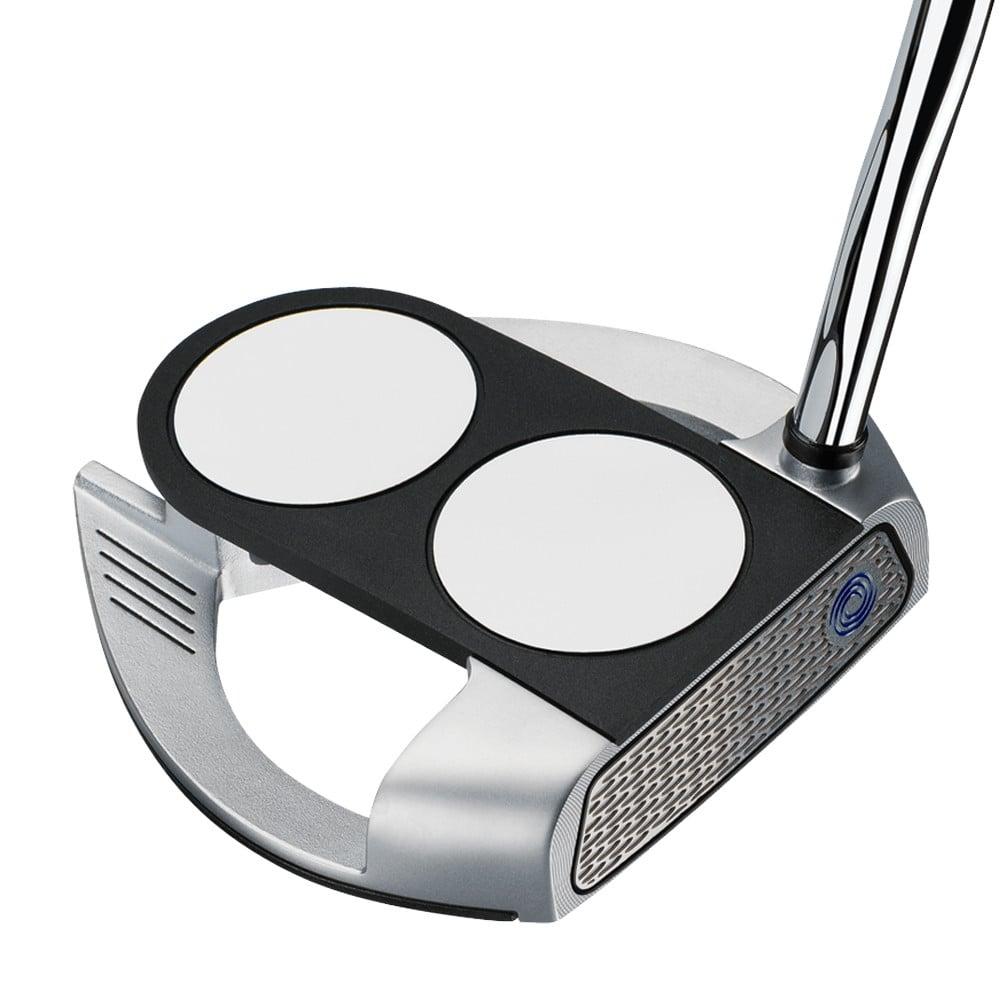 Odyssey Works Versa 2-Ball Fang Putter w/ Super Stroke Grip - Odyssey Golf