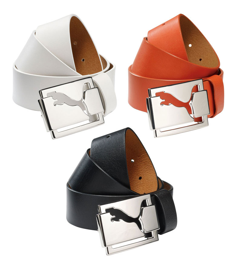 Comida Odia otoño  Puma High Shine Fitted Golf Belt - Discount Golf Belts - Hurricane Golf