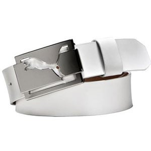 Puma High Shine Belt White