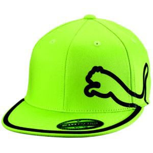 ff3278e4304 ... get new discount puma monoline 210 fitted hat lime green hurricane golf  7acfa 6367b ...