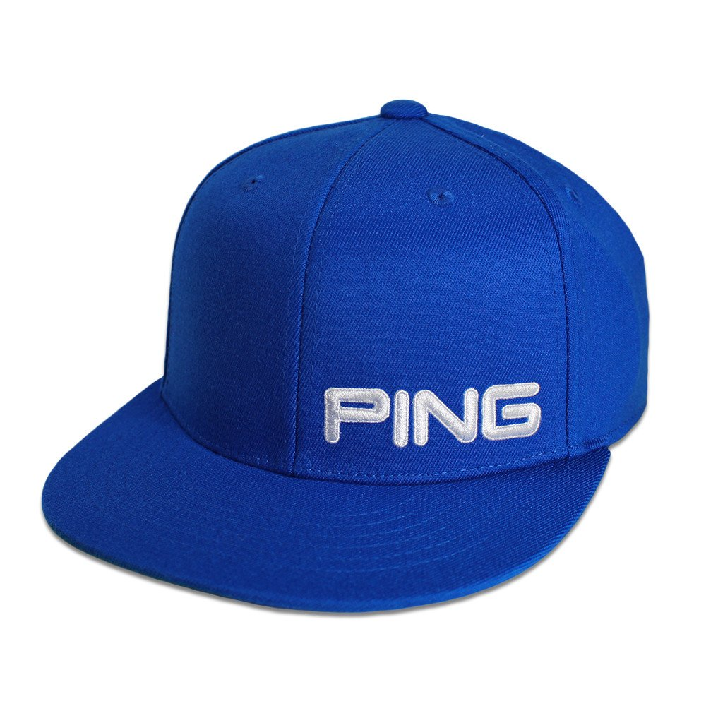 PING 210 Flat Bill Cap - Men s Golf Hats   Headwear - Hurricane Golf cda35cbc1cb
