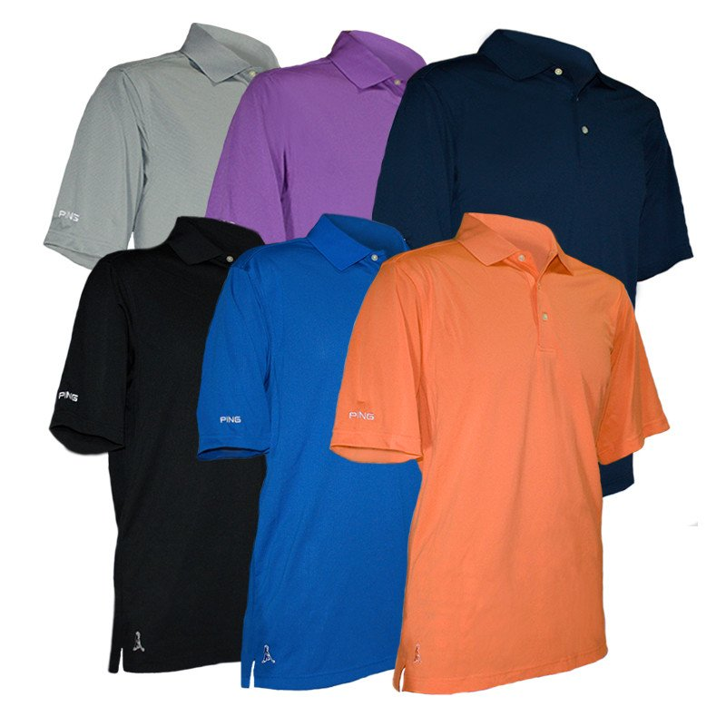 Ping Iron Short Sleeve Polo