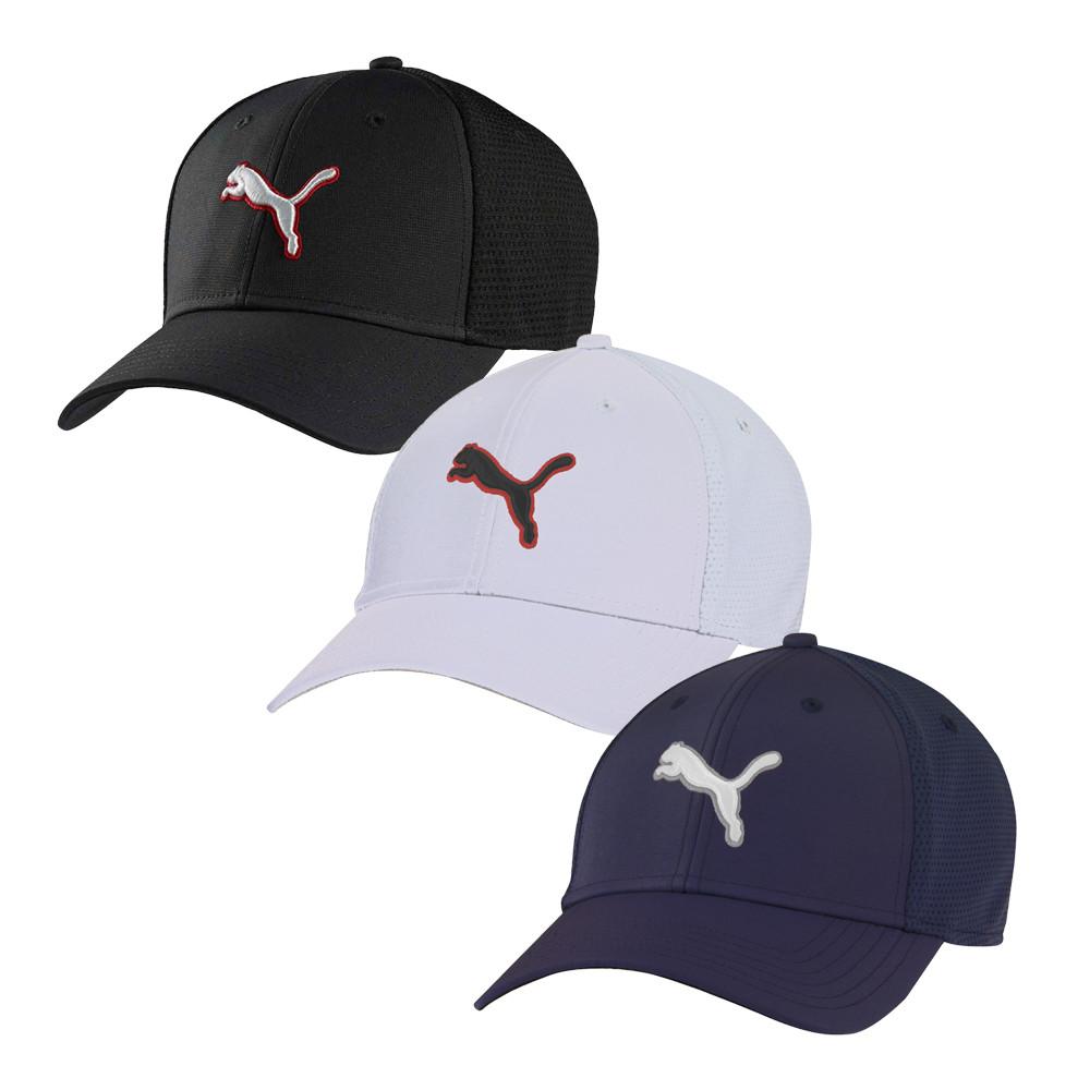 cheaper cc102 ee87d PUMA 3D Cat Flexfit Cap - Men s Golf Hats   Headwear - Hurricane Golf