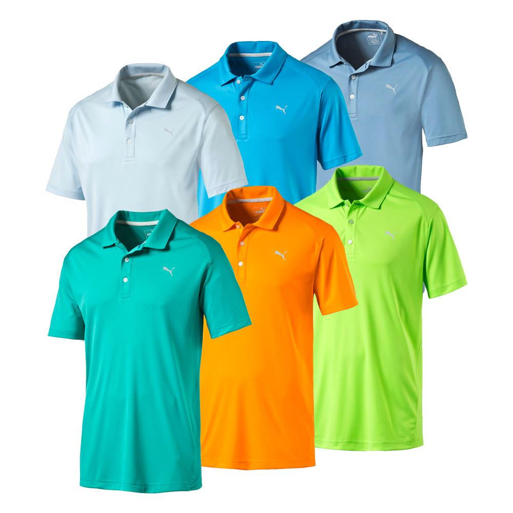 PUMA Essential Pounce Golf Polo - PUMA Golf