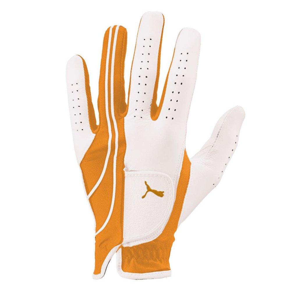PUMA Formstripe Performance Golf Glove Vibrant Orange