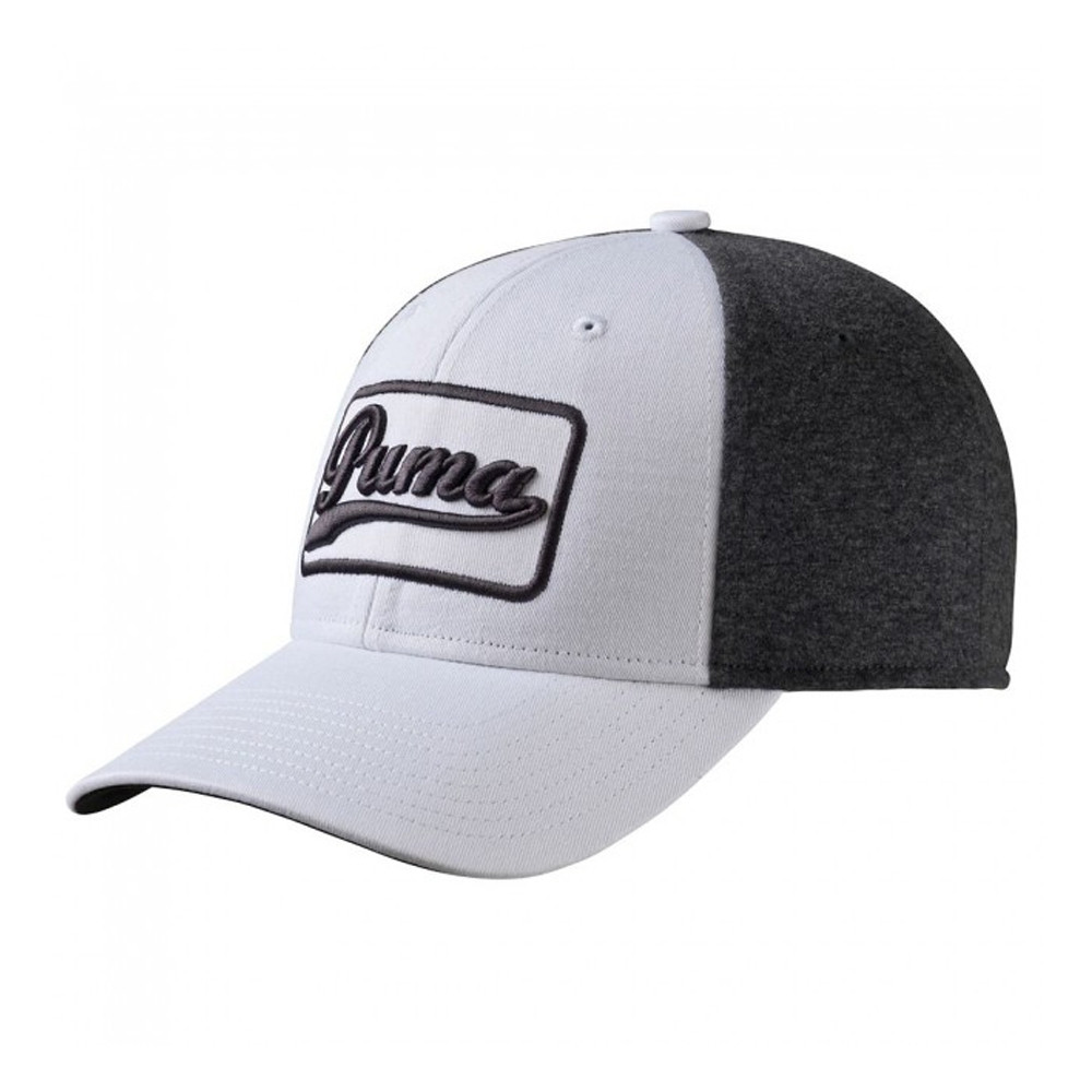 48a71f037d5 new zealand puma greenskeeper adjustable cap white dark grey heather 61e3f  bd172