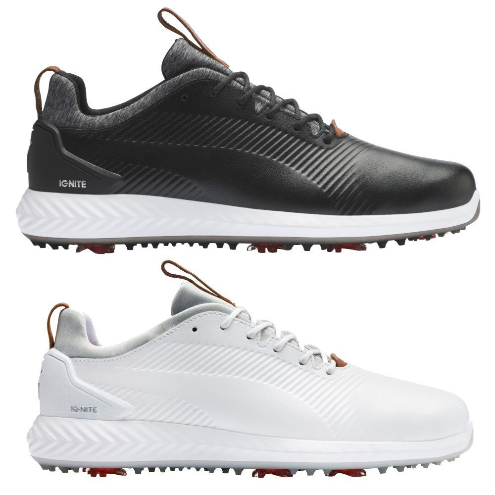 Puma Ignite Pwradapt Leather 2 0 Golf Shoes Discount Golf Shoes Hurricane Golf