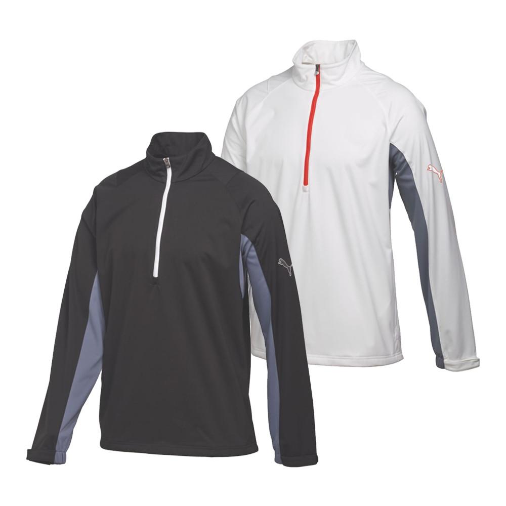 PUMA Long Sleeve Storm Golf Jacket Cresting - PUMA Golf