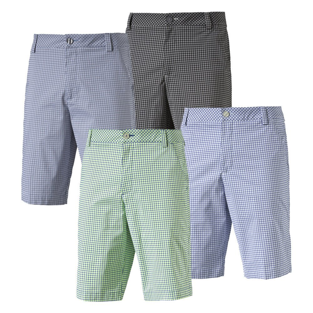PUMA Plaid Golf Shorts - PUMA Golf