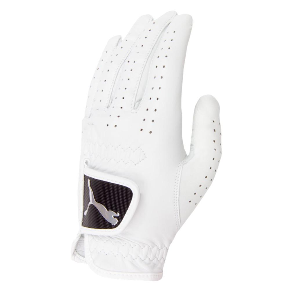 PUMA Pro Performance Leather White Golf Glove - PUMA Golf