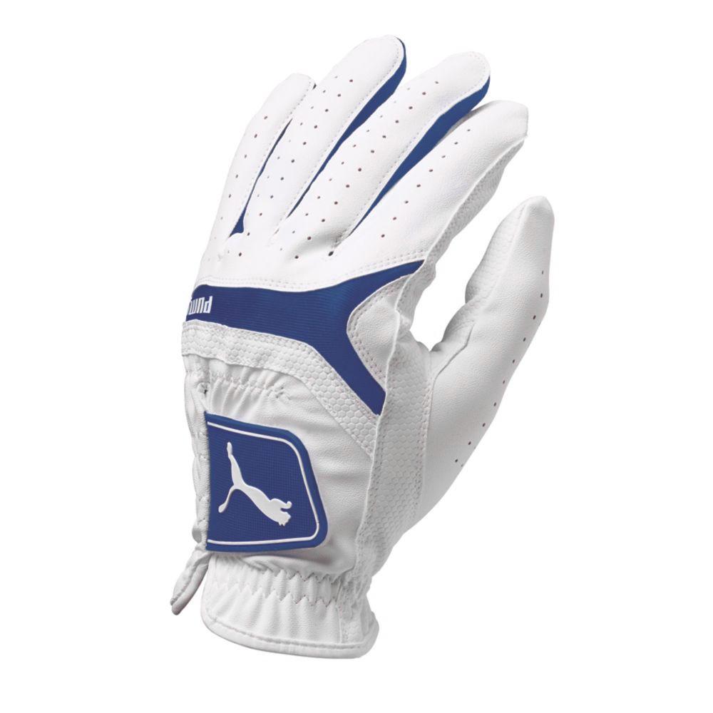 PUMA Sport Performance Player's Golf Glove White/Surf The Web - PUMA Golf