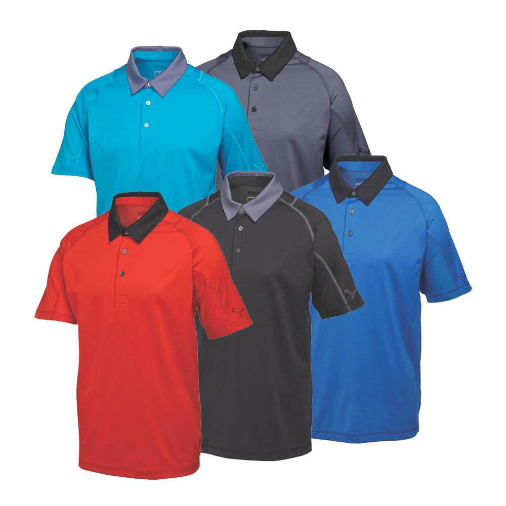 PUMA Titan Tour Polo Cresting Golf Shirt - PUMA