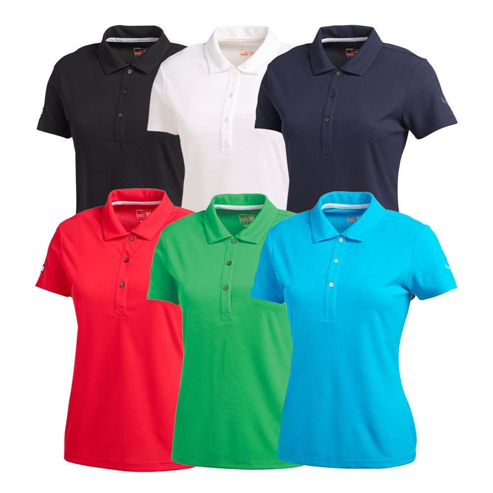 Women's PUMA Essential Polo Cresting - PUMA Golf