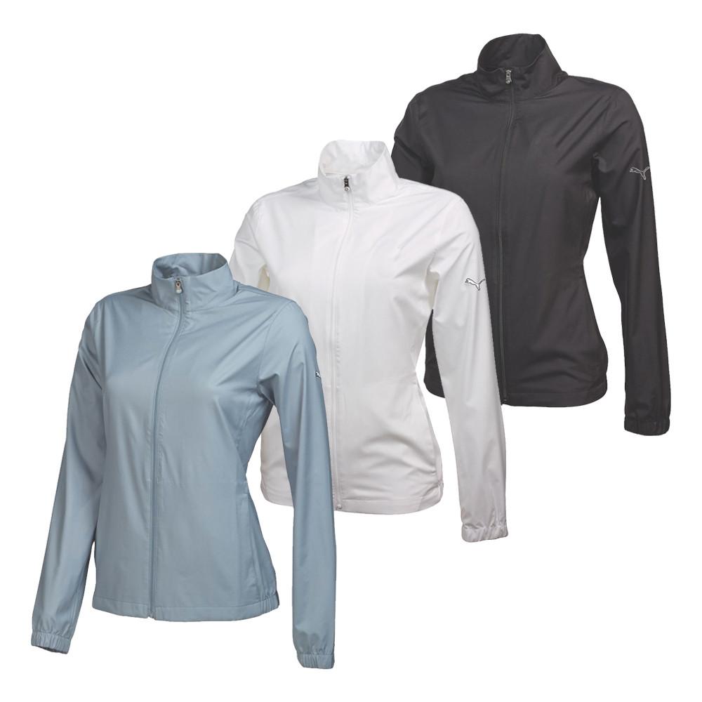 Women's PUMA Full Zip Wind Golf Jacket - PUMA Golf