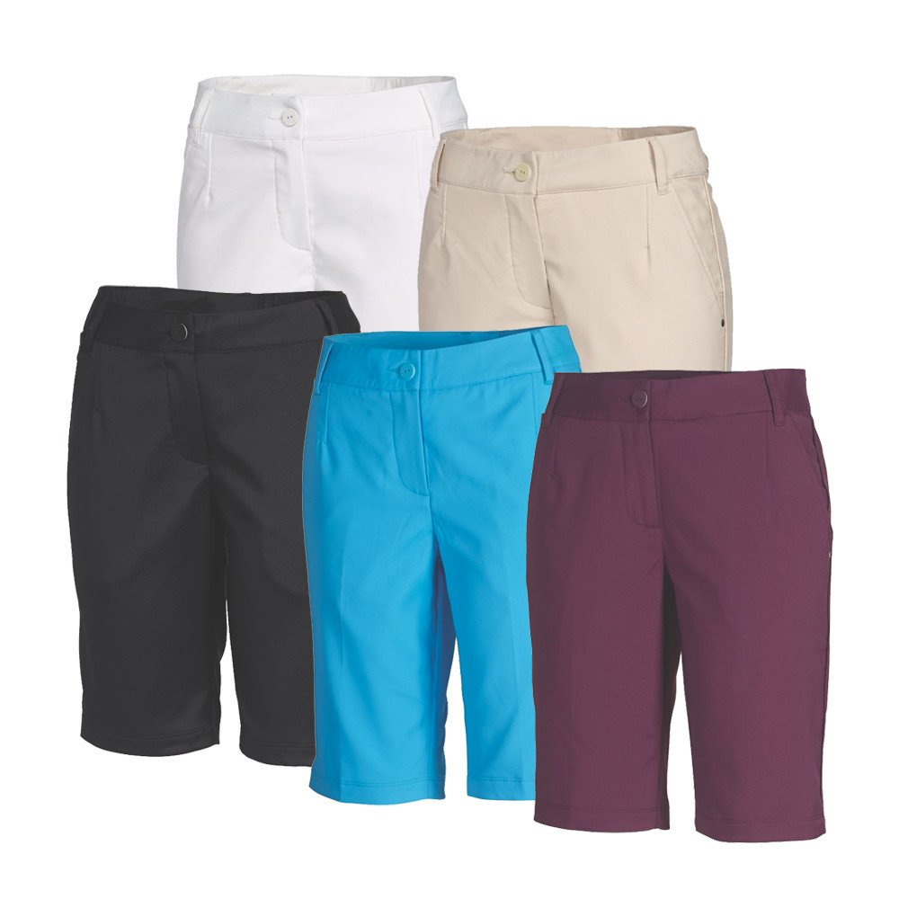 Women's PUMA Solid Tech Bermuda Golf Shorts - PUMA Golf