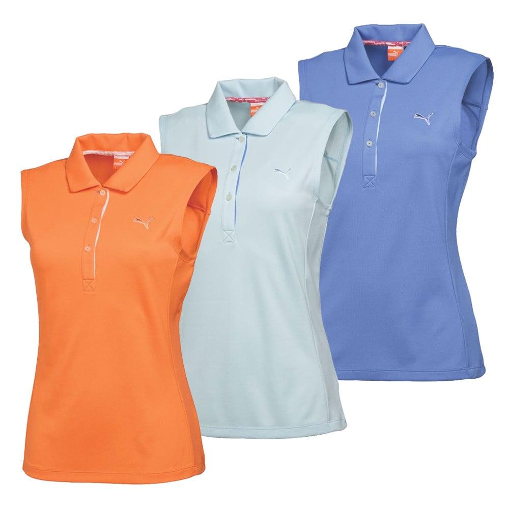 2015 Women's PUMA Tech Sleeveless Golf Shirt - PUMA Golf