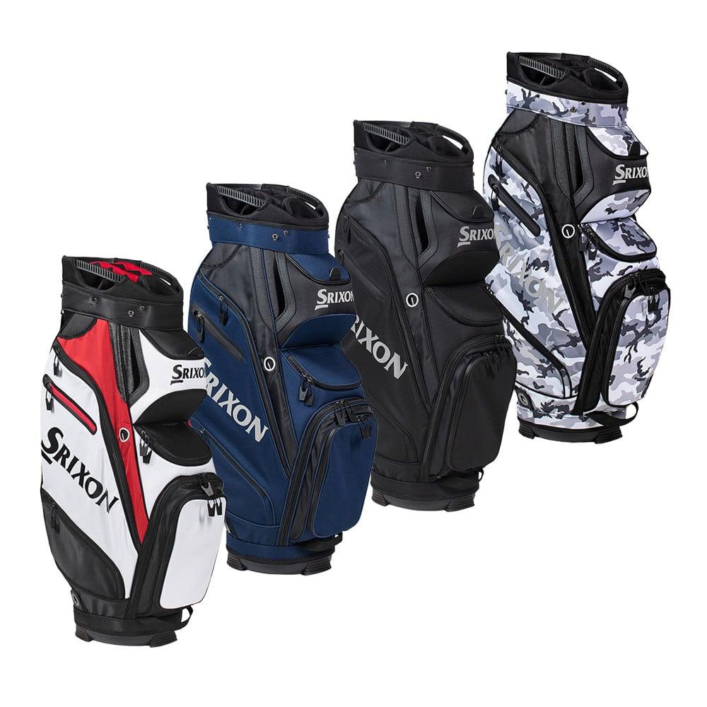 Srixon Z-Cart Bag - Discount Golf Bags - Hurricane Golf on wilson staff golf bag cart, callaway big bertha golf bag cart, bridgestone golf bag cart,