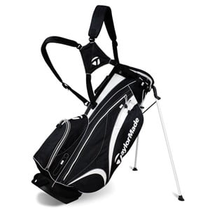 TaylorMade Stratus Stand Bag Black/BlackWhite