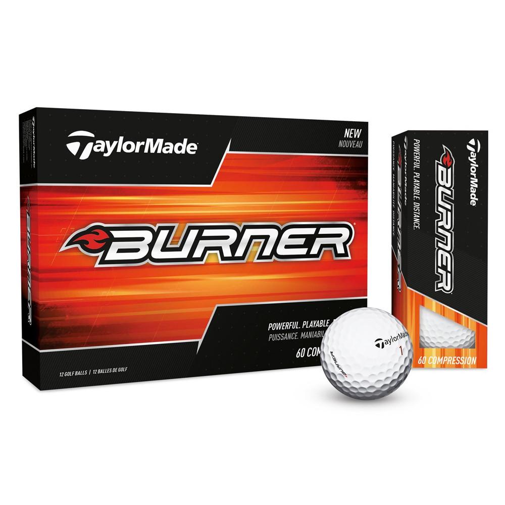 2017 TaylorMade Burner Golf Balls - 1 Dozen