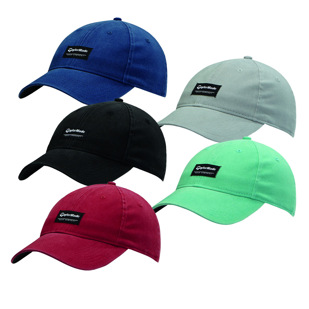 TaylorMade Label Fitted Cap - TaylorMade Golf