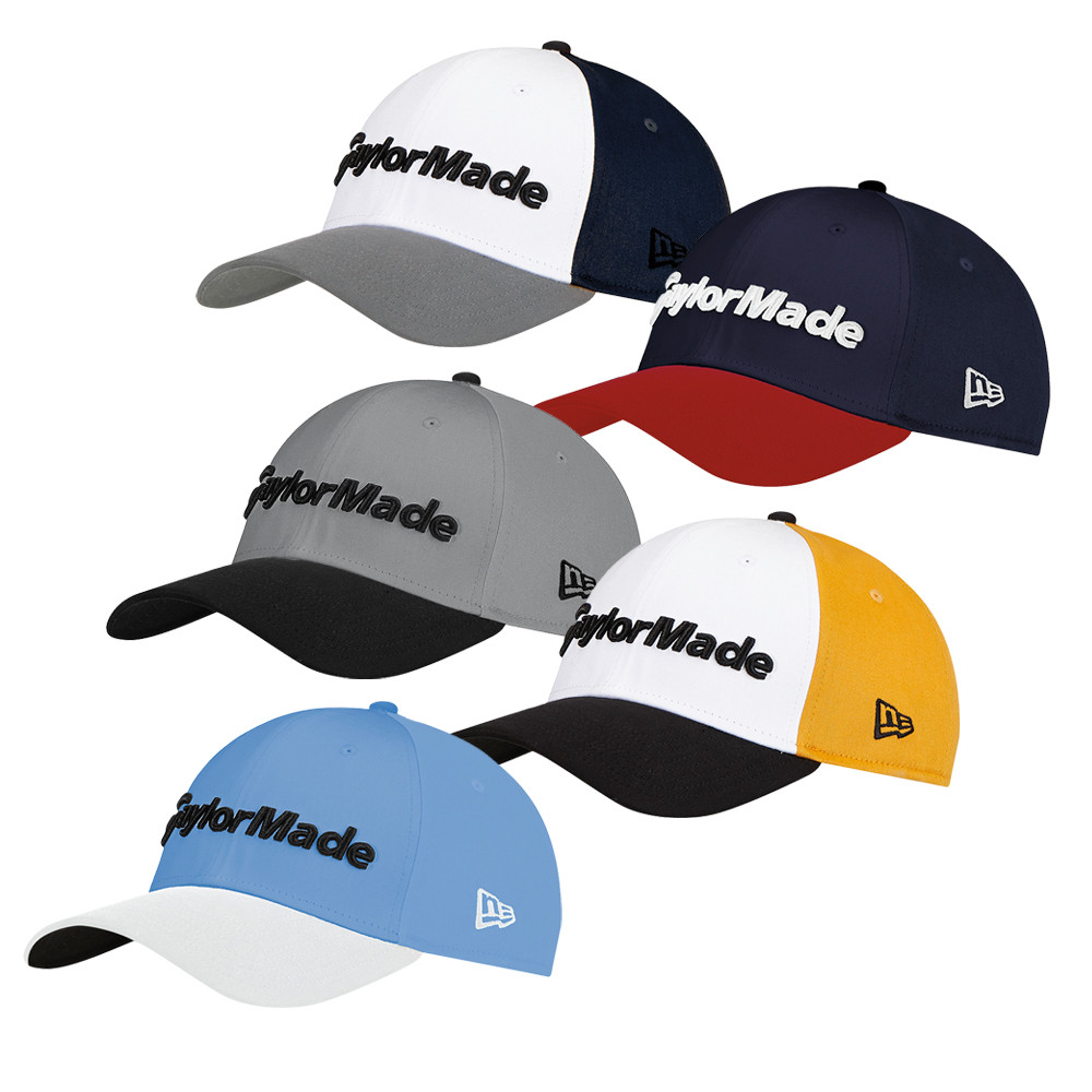 TaylorMade New Era 39Thirty Fitted Hat - Men s Golf Hats   Headwear -  Hurricane Golf 6b6e020e71c