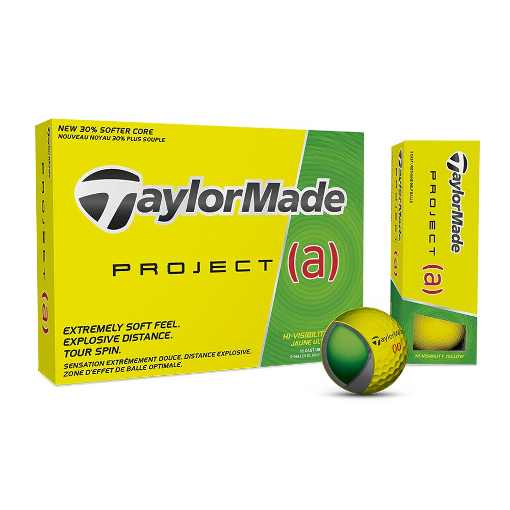 TaylorMade Yellow Project (A) Golf Balls - TaylorMade Golf