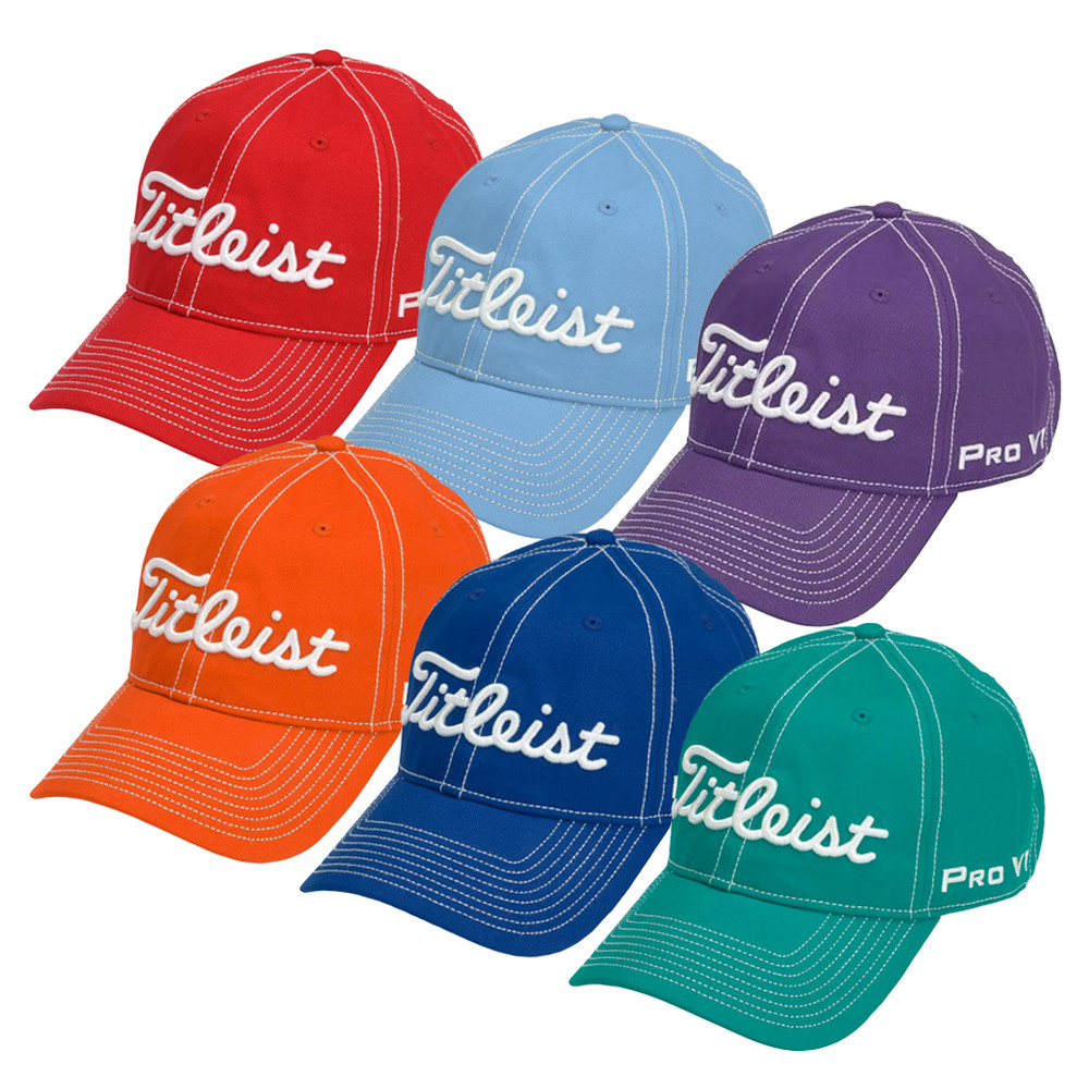 Titleist Contrast Stitch Fashion Adjustable Hat - Titleist Golf