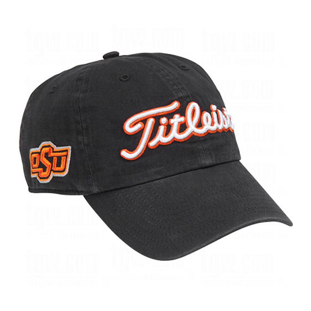 Titleist NCAA Adjustable Team Hat - Men s Golf Hats   Headwear - Hurricane  Golf 5712b4f1684