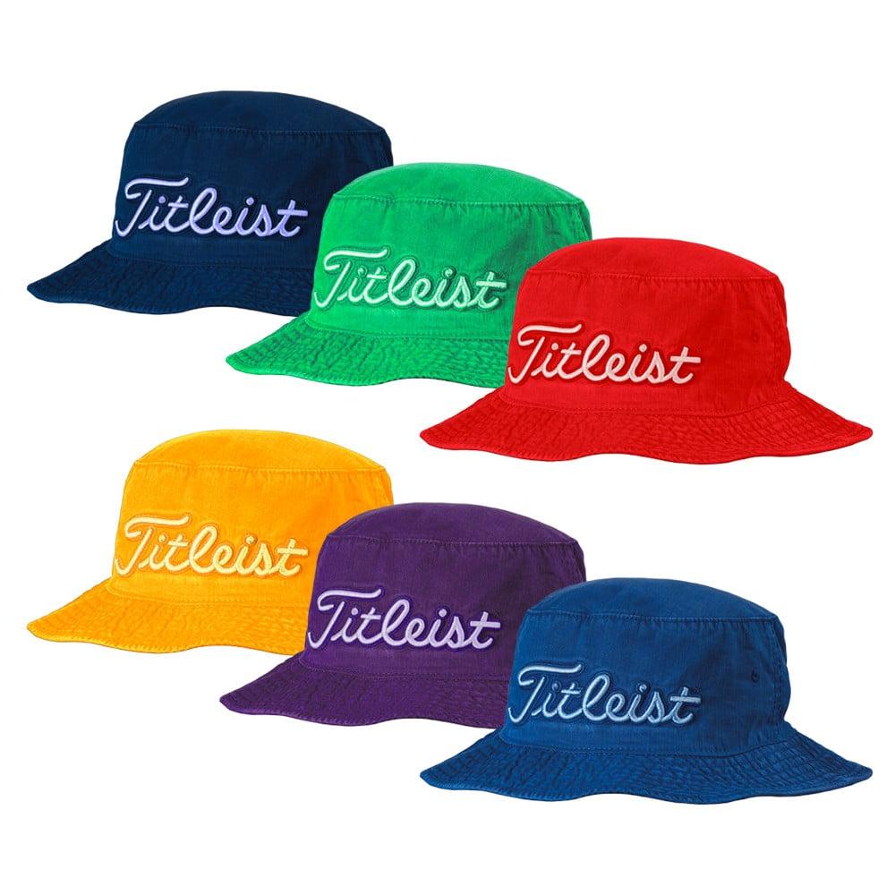 Titleist Pigment Dyed Bucket Hat - Men s Golf Hats   Headwear ... 0a1927db5d4