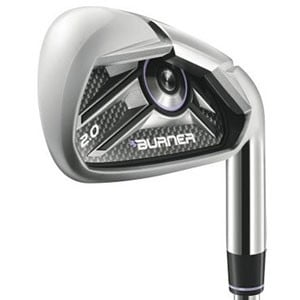 TaylorMade Lady Burner 2.0 HP 5-PW, AW, SW Iron Set