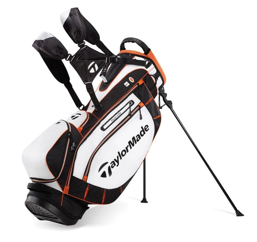 TaylorMade PureLite Stand Bag Orange