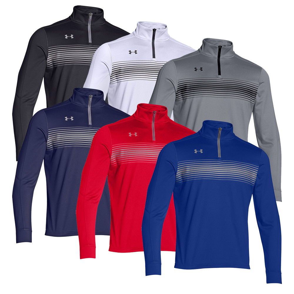 Under Armour UA Qualifier Novelty 1/4 Zip Pullover - Under Armour Golf