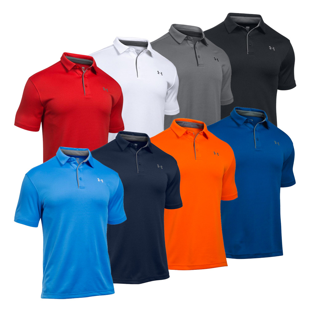 Under Armour UA Tech Men's Golf Polo Shirt - Under Armour Golf