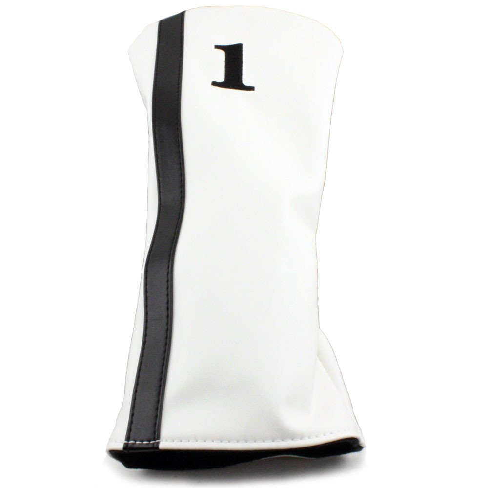 Hurricane Golf Racer Driver Headcover White/Black
