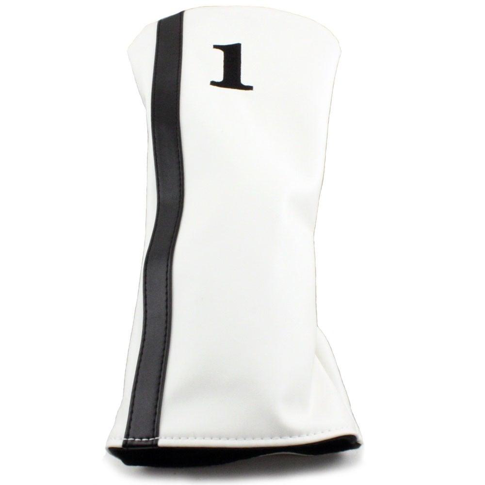 Hurricane Golf Racer Driver Headcover White/Black